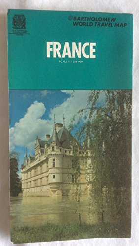 9780702804717: France Map (World Travel)