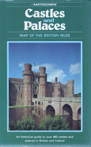 9780702806698: Castles and Palaces: Map of the British Isles