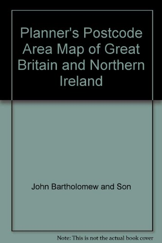 Planner's Postcode Area Map of Great Britain and Northern Ireland (0702807850) by John Bartholomew and Son