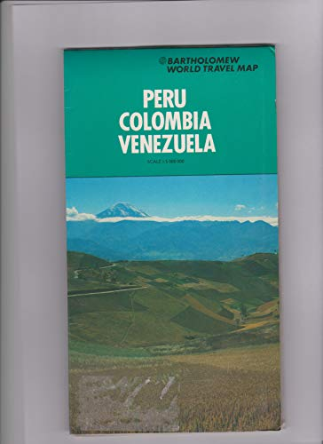 Peru, Colombia and Venezuela Map (World Travel) (0702807915) by John Bartholomew and Son