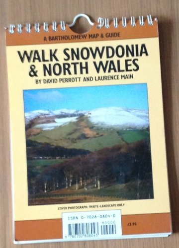 9780702808043: Walk Snowdonia and North Wales (A Bartholomew map & guide)