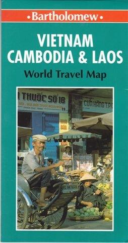 9780702821189: Vietnam, Cambodia and Laos (Bartholomew World Travel Map)