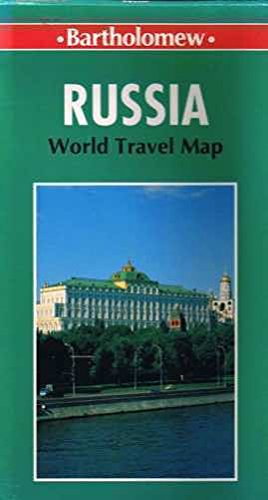 World Travel Russia and Asian Republics-Map