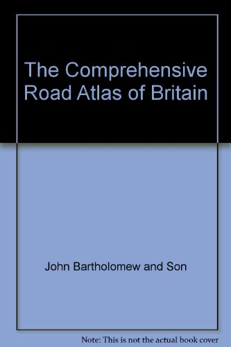 9780702823008: The Comprehensive Road Atlas of Britain