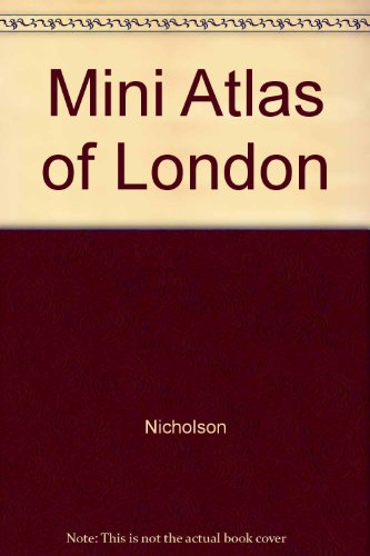 9780702823053: Mini Atlas of London