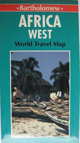 9780702823633: World Travel Africa West-Map (World Travel Map)
