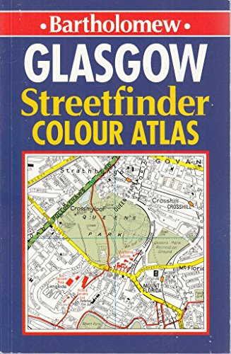 9780702827884: Glasgow Streetfinder Colour Atlas