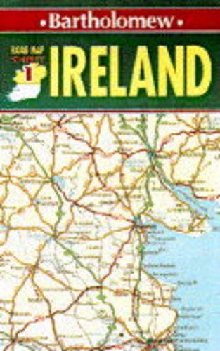 9780702830389: Road Map Ireland: North Sheet 1