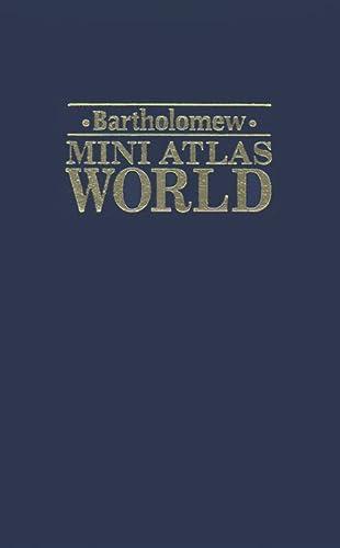 9780702833526: Bartholomew Mini Atlas World