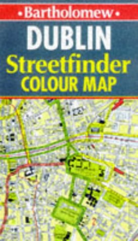 Dublin Colour Streetfinder Map: Bartholomew (Firm)