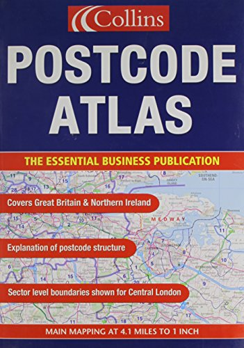 9780702839368: Collins Postcode Atlas of Great Britain and Northern Ireland