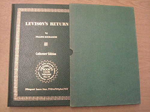 9780703001207: Levison's Return. Greyfriars Book Club No. 14