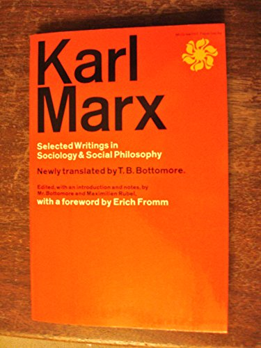 9780704067233: Karl Marx Selected Writings In Sociology