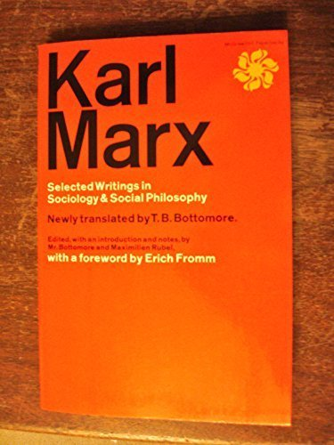 9780704067233: Karl Marx Selected Writings In Sociology & Social Philosophy