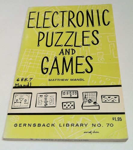 9780704200098: Electronic Puzzles and Games