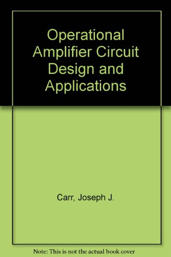9780704201736: Operational Amplifier Circuit Design and Applications