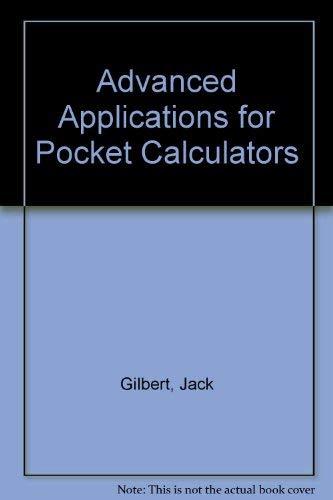9780704201767: Advanced Applications for Pocket Calculators