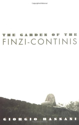9780704301054: The Garden of the Finzi-Continis