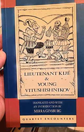 9780704301719: Lieutenant Kije and Young Vitushishnikov (Quartet Encounters)