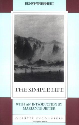 9780704301856: The Simple Life (Quartet Encounters) (Quartet Encounters S.)