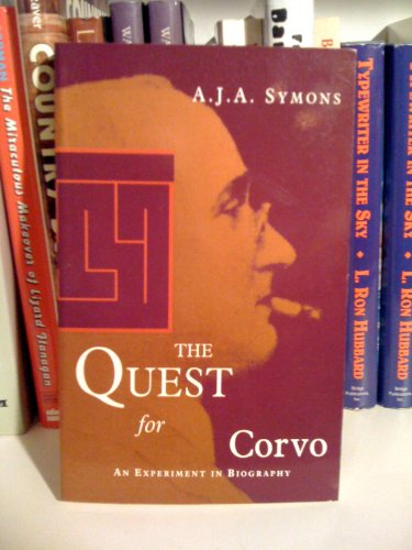 9780704301979: The Quest for Corvo