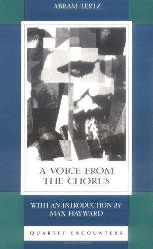 Voice From the Chorus (Quartet Encounters): Abram Tertz