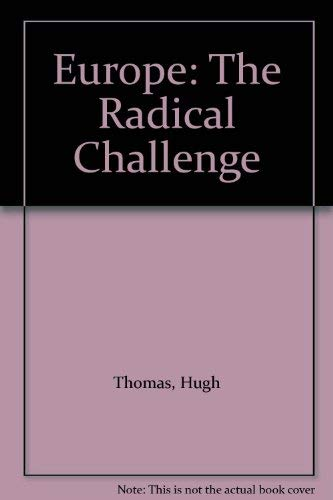 9780704310018: Europe: The Radical Challenge