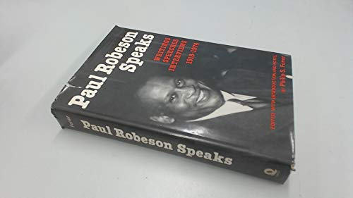 Paul Robeson Speaks (0704321955) by Philip Foner