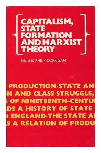 9780704322417: Capitalism, State Formation and Marxist Theory (Historical Investigations)