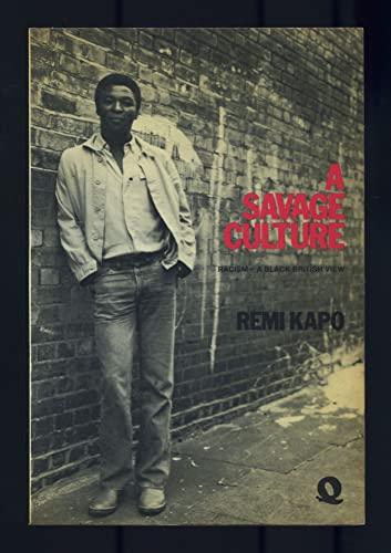 9780704323025: Savage Culture