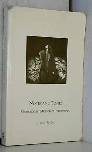 9780704323650: Notes and tones: musician-to-musician interviews