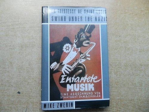 9780704324206: Tristesse de St.Louis: Swing Under the Nazis