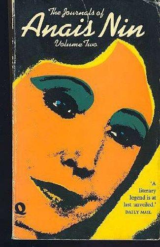 9780704330771: Journals of Anais Nin Volume 2