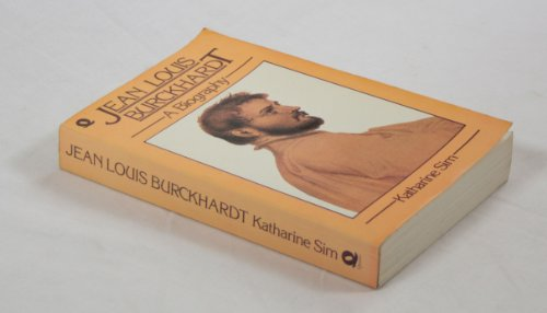 9780704333550: Jean-Louis Burckhardt