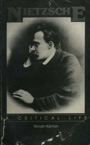 9780704333635: Nietzsche: A Critical Life