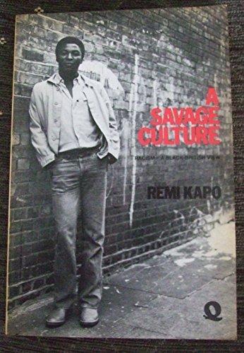 9780704333925: A Savage Culture
