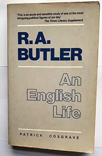 9780704334373: R. A. Butler, An English Life