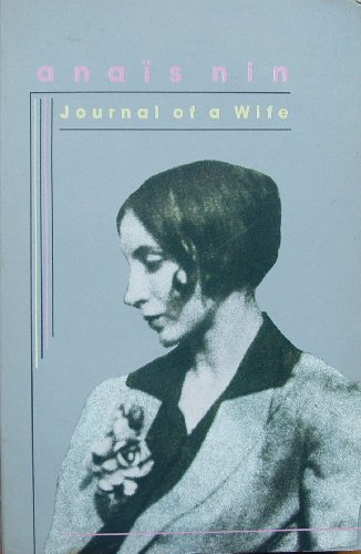 9780704334939: Journal of a Wife: The Early Diary of Anais Nin, 1923-27