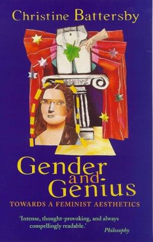 9780704343009: Gender and Genius: Towards a Feminist Aesthetics