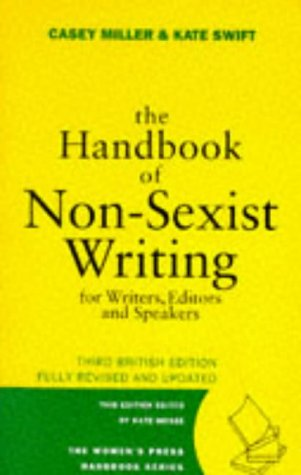 9780704344426: The Handbook of Non-sexist Writing for Writers, Editors and Speakers (Women's Press Handbook)