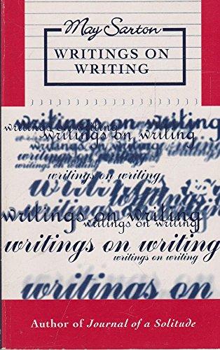 9780704344563: Writings on Writing