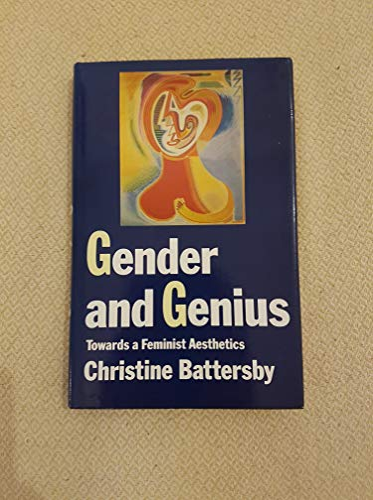 9780704350397: Gender and Genius: Towards a Feminist Aesthetics