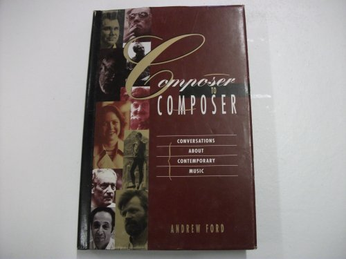 9780704370616: Composer to Composer: Conversations About Contemporary Music