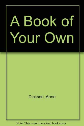 9780704370791: A Book of Your Own