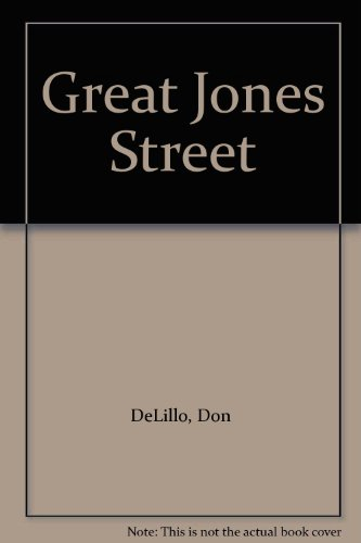 9780704500938: Great Jones Street
