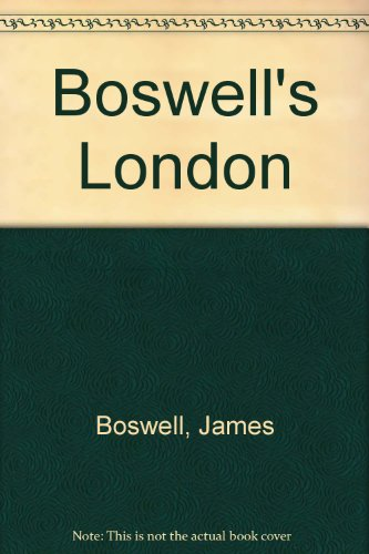 9780704501454: Boswell's London