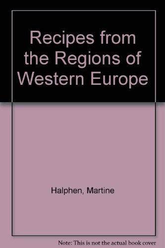 9780704502208: Recipes from the Regions of Western Europe