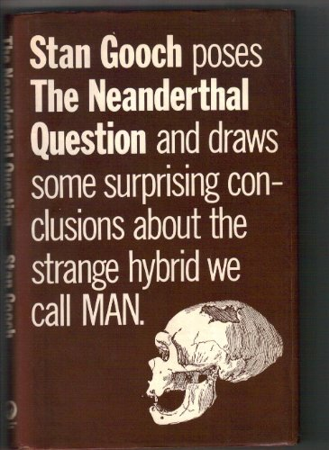 9780704502604: Neanderthal Question