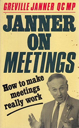 On Meetings (0704505576) by Janner, Greville