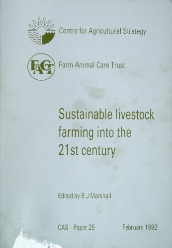 9780704906396: Sustainable Livestock Farming into the 21st Century